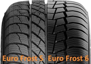 Сравнение Gislaved Euro Frost 6 и Euro Frost 5